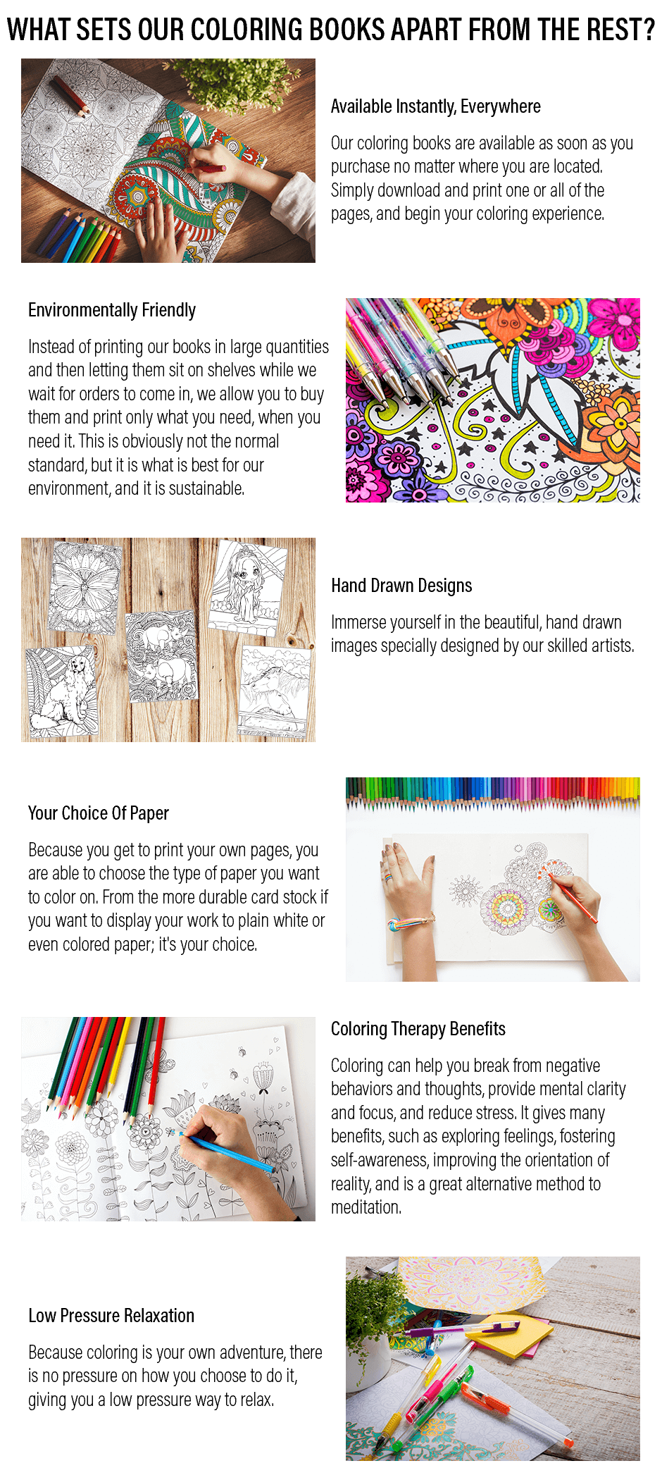 What Sets Our Coloring Books Apart From The Rest?