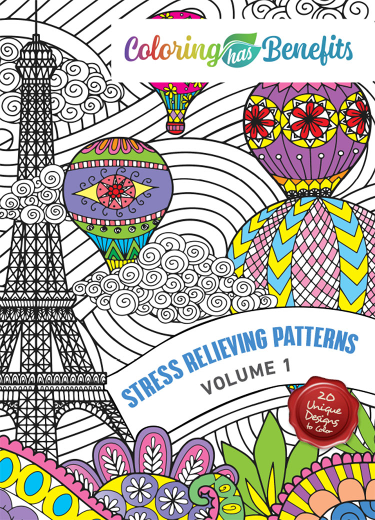 Stress Relieving Patterns: Volume One